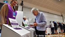 Australien Wahl 2019 | Stimmabgabe (Getty Images/AFP/S. Khan)