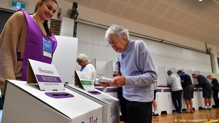 Australien Wahl 2019 | Stimmabgabe
