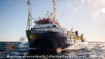 Le navire de l'ONG allemande Sea-Watch