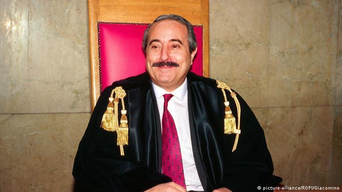 Juez Falcone, asesinado en 1992.