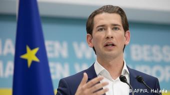 Österreich Wien Kanzler Sebastian Kurz (AFP/A. Halada)