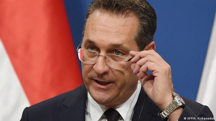 Österreich Vizekanzler Heinz-Christian Strache