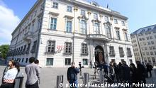 Österreich Bundeskanzleramt Vizekanzler Strache vor dem Aus