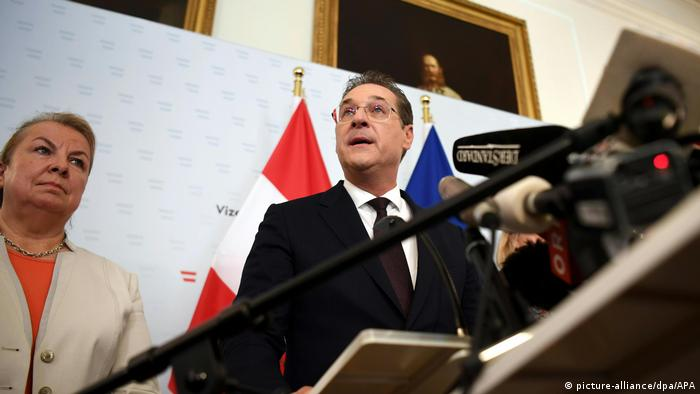 Austrian Vice-Chancellor Heinz-Christian Strache resigns following alleged corruption scandal