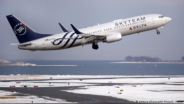 USA Boston | Delta Air Lines (picture-alliance/AP Photo/C. Krupa)