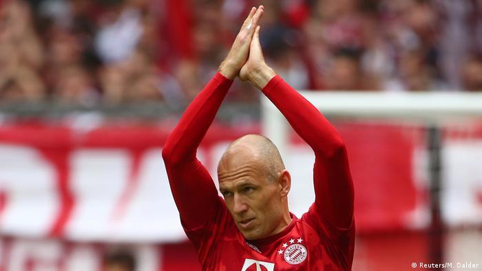 Bundesliga 34. Spieltag | FC Bayern München vs. Eintracht Frankfurt | Arjen Robben