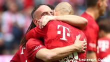 Bundesliga 34. Spieltag | FC Bayern München vs. Eintracht Frankfurt | Ribéry & Robben