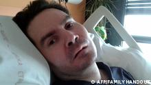 Paralyzed patient Vincent Lambert (AFP/FAMILY HANDOUT)