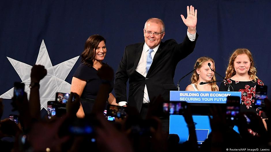 Australia's conservatives keep power in 'miracle' election win