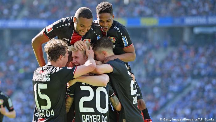 Bundesliga 34. Spieltag | Hertha BSC vs. Bayer 04 Leverkusen | 3. TOR Lerverkusen (Getty Images/Bongarts/T.F. Starke)