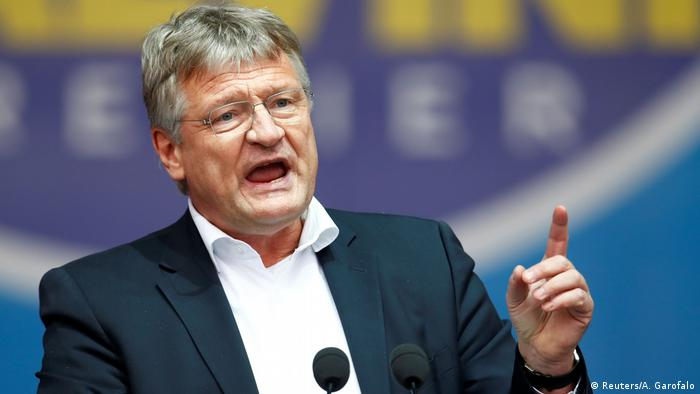 Joerg Meuthen of the Alternative for Germany (AfD)