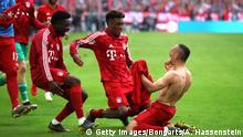 Bundesliga 34. Spieltag | FC Bayern München - Eintracht Frankfurt (Getty Images/Bongarts/A. Hassenstein)