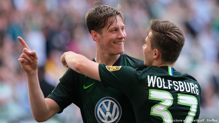 Fußball | Bundesliga 34. Spieltag | VfL Wolfsburg - FC Augsburg (picture-alliance/dpa/P. Steffen)