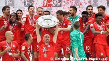 Bundesliga 34. Spieltag   FC Bayern München - Eintracht Frankfurt   Meisterschaftsfeier Bayern