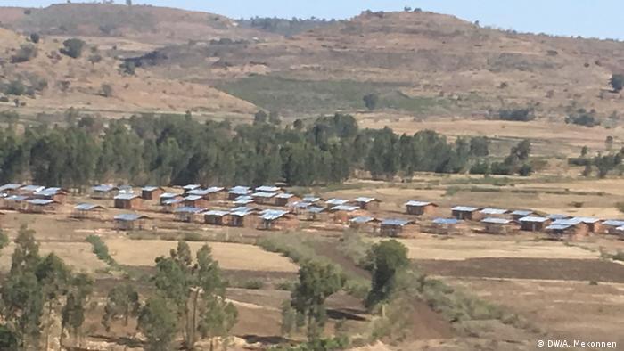 Äthiopien Vertriebene aus Chilga (DW/A. Mekonnen )