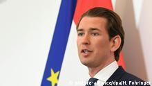Österreich Regierungskrise   PK Sebastian Kurz
