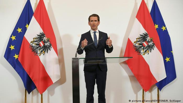 Österreich Regierungskrise | PK Sebastian Kurz