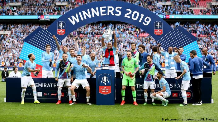 FA Cup Finale | Manchester City v Watford | Manchester City Mesiter (picture-alliance/empics/N. French)