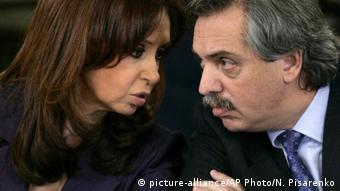 Argentinien Cristina Fernandez und Alberto Fernandez 2008