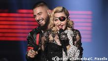 USA Maluma und Madonna treten bei den Billboard Music Awards auf (picture-alliance/dpa/C. Pizzello)