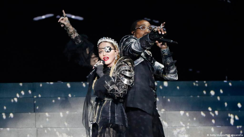 Madonna steals the show at Eurovision — for the wrong