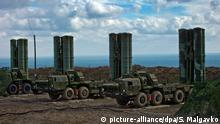 S-400 air defense systems deployed in Feodosia