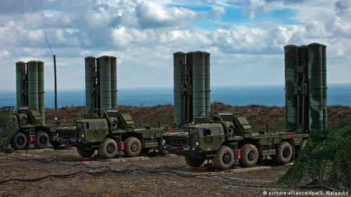 Пускові установки зенітно-ракетної системи С-400