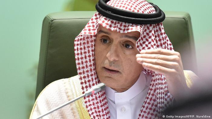 Saudi-Arabien Außenminister Adel al-Dschubeir