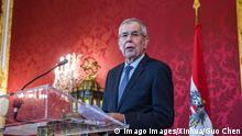 Österreich Wien Präsident Alexander Van der Bellen