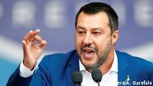 Italien Kundgebung von neuer Rechts-Allianz in Mailand | Matteo Salvini