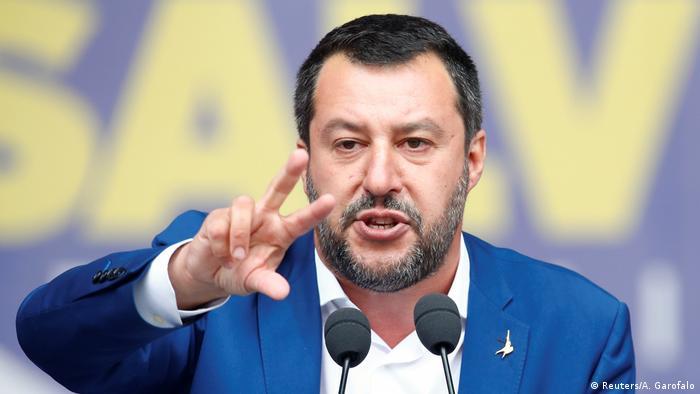 Праворадикальний італійський політик Маттео Сальвіні