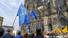 Köln Demonstration Ein Europa für Alle