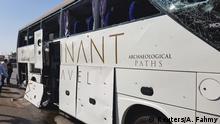 Ägypten Explosion gerichtet auf Touristenbusse in Kairo
