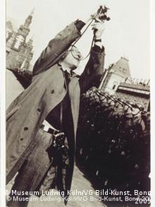 Георгий Петрусов на Красной площади. 1935. Александр Родченко