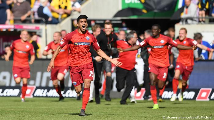 Paderborn back in Bundesliga after five rollercoaster years