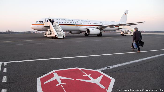 German military A321 plane (picture-alliance/dpa/B. von Jutrczenka)
