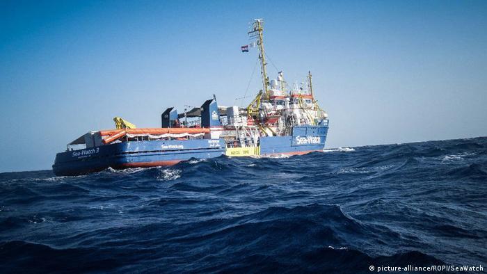 Rettungsschiff Sea-Watch 3