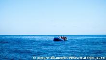 Mittelmeer Rettung von Flüchtlingen durch Sea-Watch 3