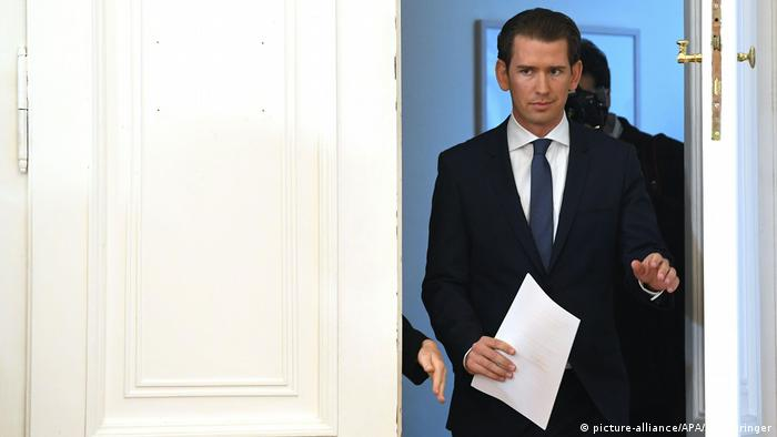 What happens if Austria's chancellor is voted out?