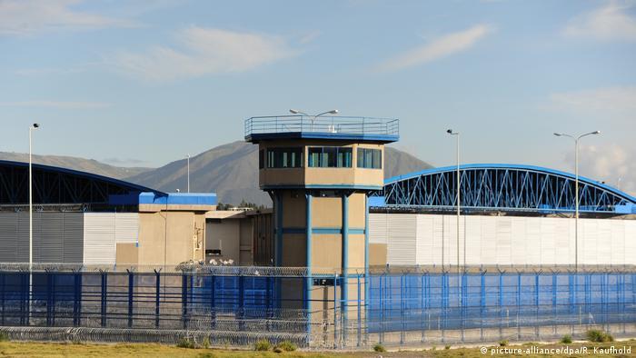 Ecuador Gefängnis bei Quito (picture-alliance/dpa/R. Kaufhold)