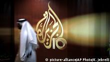 Katar Doha Al Jazeera (picture-alliance/AP Photo/K. Jebreili)