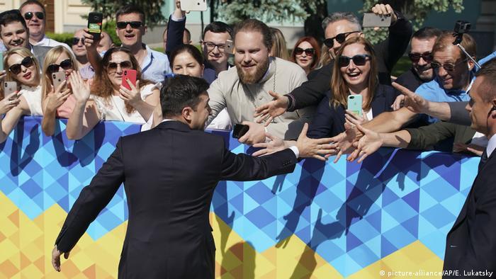 Президент України Володимир Зеленський перед інавгурацією 20 травня
