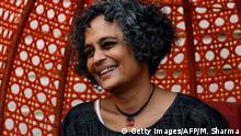 Indien Neu Delhi - Autorin Arundhati Roy