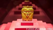 Pressevorbesichtigung zur Ausstellung PharaonenGold in Völkingen