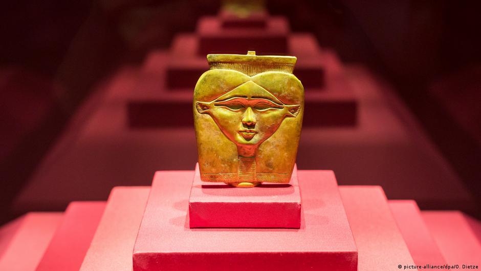 Золото в древнем египте