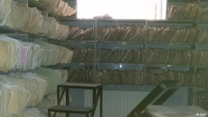 ملفات في المخابرات السورية، صورة رمزية.