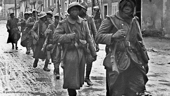 سربازان فرانسوی در جنگ جهانی اول