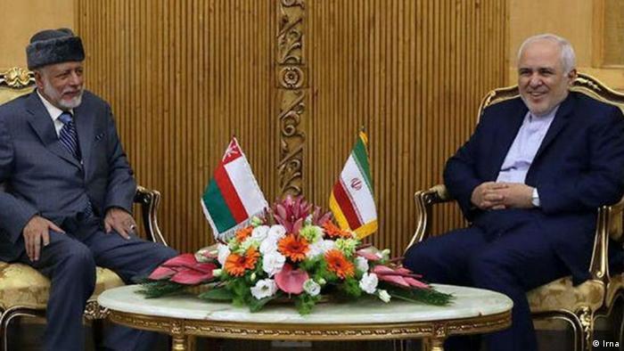 تلاشهای دیپلماتیک روزهای اخیر ایران، دیدار وزیران امور خارجه ایران و عمان