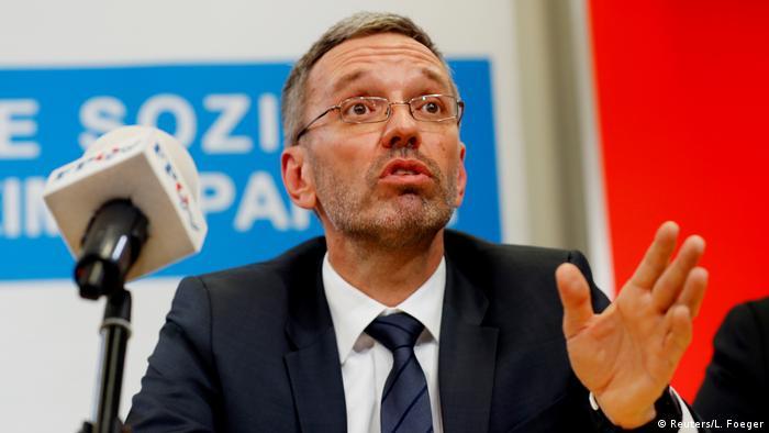 Österreich Wien Innenminister Herbert Kickl FPÖ (Reuters/L. Foeger)
