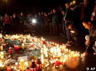 La tristeza en Hannover se manifiesta en las calles por el héroe perdido.
